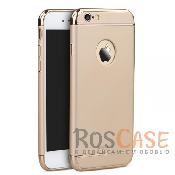 Чехол iPaky Joint Series для Apple iPhone 6/6s plus (5.5) (Золотой)Описание:производитель: iPaky;совместимость: смартфон Apple iPhone 6/6s plus (5.5);материал для изготовления: поликарбонат;форм-фактор: накладка.Особенности:стильный дизайн;система надежной фиксации;прочный, износостойкий, не деформируется;имеет все необходимые функциональные вырезы;легко очищается.<br><br>Тип: Чехол<br>Бренд: Epik<br>Материал: Пластик