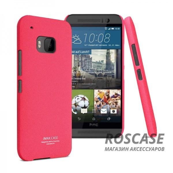 Пластиковая накладка IMAK Cowboy series для HTC One / M9 (Розовый)Описание:бренд:&amp;nbsp;IMAK;совместим с HTC One / M9;материал: поликарбонат;форма: накладка.&amp;nbsp;Особенности:тонкий дизайн;не скользит в руках;песочная фактура;не выгорает;все вырезы в наличии;защита от механических повреждений.<br><br>Тип: Чехол<br>Бренд: iMak<br>Материал: Поликарбонат