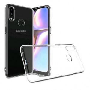 Прозрачный силиконовый чехол  для Samsung Galaxy A10s