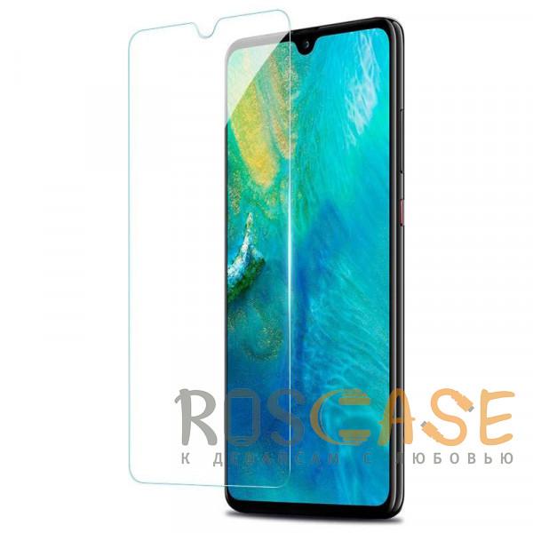 Фото Прозрачная Гидрогелевая защитная плёнка Rock для Huawei Y7 (2019)