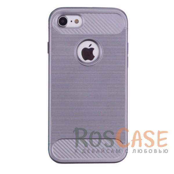 TPU+PC чехол Caseology Slim для Apple iPhone 7 / 8 (4.7) (Серый)<br><br>Тип: Чехол<br>Бренд: Epik<br>Материал: TPU