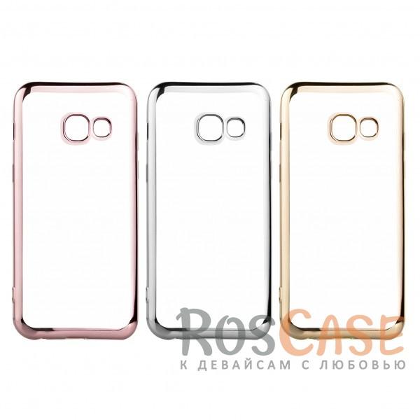 Прозрачный силиконовый чехол для Samsung A520 Galaxy A5 (2017) с глянцевой окантовкойОписание:совместим с Samsung A520 Galaxy A5 (2017);глянцевая окантовка;материал - TPU;тип - накладка.<br><br>Тип: Чехол<br>Бренд: Epik<br>Материал: TPU