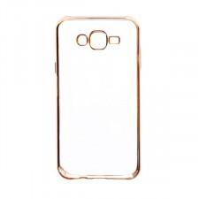 Силиконовый чехол для Samsung J500H Galaxy J5 с глянцевой окантовкой