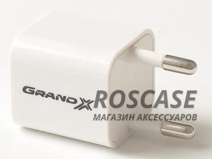 фото сетевое ЗУ Grand-X USB 5V 1A (CH-655)