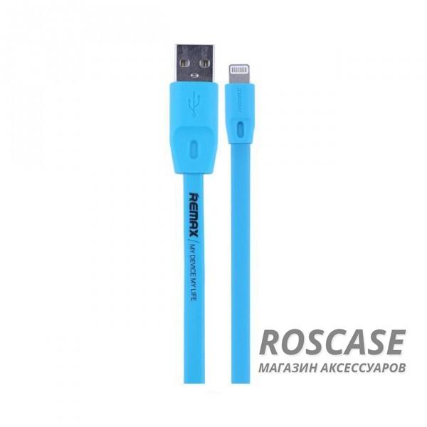 Дата кабель Remax Color lightning для Apple iPhone 5/5s/5c/SE/6/6 Plus/6s/6s Plus /7/7 Plus (1.5m) (Синий)Описание:производитель&amp;nbsp; - &amp;nbsp;Remax;выполнен из ПВХ;тип&amp;nbsp; - &amp;nbsp;дата кабель;совместимость - Apple iPhone 5/5s/5c/SE/6/6 Plus/6s/6s Plus /7/7 Plus.Особенности:длина&amp;nbsp;кабеля - 1,5 м;разъемы&amp;nbsp; - &amp;nbsp;lightning, USBвысокая скорость передачи данных;совмещает три в одном: синхронизация данных, передача данных, зарядка.<br><br>Тип: USB кабель/адаптер<br>Бренд: Remax