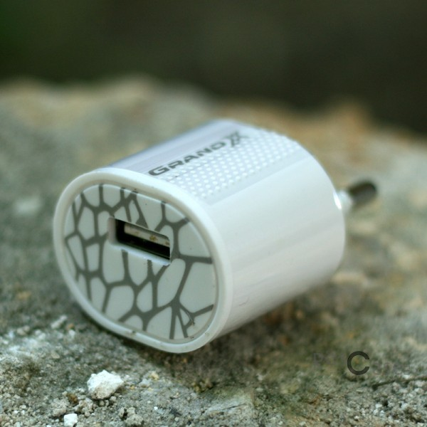 фото сетевого зу Grand-X USB 5V 1A (CH-695)