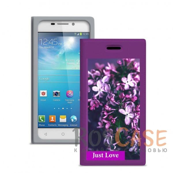 Универсальный женский чехол-книжка с принтом цветка Миранда Сирень для смартфона с диагональю 4,8-5,0 дюйма (Фиолетовый)Описание:совместимость -&amp;nbsp;смартфоны с диагональю&amp;nbsp;4,8-5,0 дюйма;материал - искусственная кожа;тип - чехол-книжка;предусмотрены все необходимые вырезы;защищает девайс со всех сторон;цветочный рисунок;ВНИМАНИЕ:&amp;nbsp;убедитесь, что ваша модель устройства находится в пределах максимального размера чехла.&amp;nbsp;Размеры чехла: 142*72 мм.<br><br>Тип: Чехол<br>Бренд: Gresso<br>Материал: Искусственная кожа