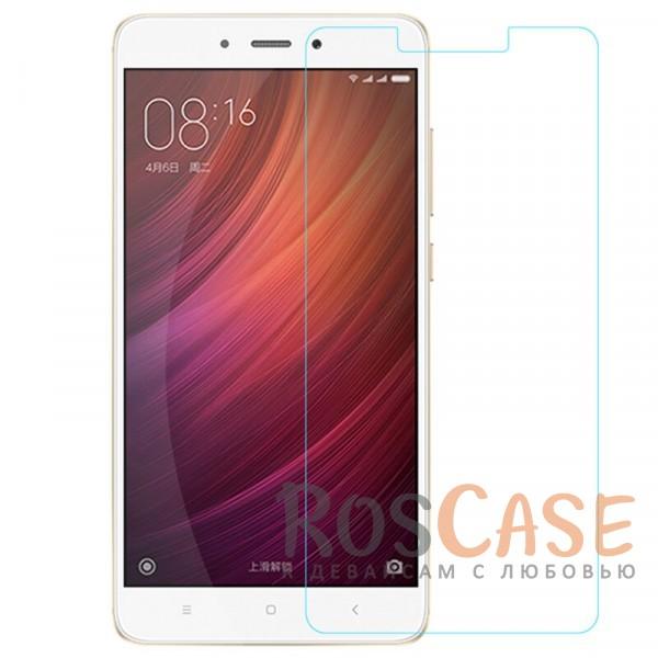 Защитное стекло Ultra Tempered Glass 0.33mm (H+) для Xiaomi Redmi Note 4 (к. уп-ка)Описание:совместимо с устройством Xiaomi Redmi Note 4;материал: закаленное стекло;тип: защитное стекло на экран.&amp;nbsp;Особенности:закругленные&amp;nbsp;грани стекла обеспечивают лучшую фиксацию на экране;стекло очень тонкое - 0,33 мм;отзыв сенсорных кнопок сохраняется;стекло не искажает картинку, так как абсолютно прозрачное;выдерживает удары и защищает от царапин;размеры и вырезы стекла соответствуют особенностям дисплея.<br><br>Тип: Защитное стекло<br>Бренд: Epik