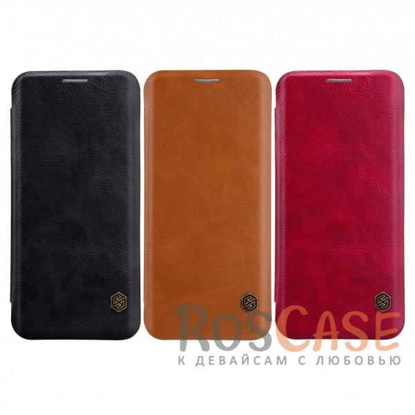 Nillkin Qin натур. кожа | Чехол-книжка для Samsung Galaxy S9Описание:разработан для Samsung Galaxy S9;материалы: натуральная кожа, поликарбонат;защищает гаджет со всех сторон;на аксессуаре не заметны отпечатки пальцев;карман для визиток;предусмотрены все необходимые вырезы;тонкий дизайн не увеличивает габариты девайса;тип: чехол-книжка.<br><br>Тип: Чехол<br>Бренд: Nillkin<br>Материал: Натуральная кожа