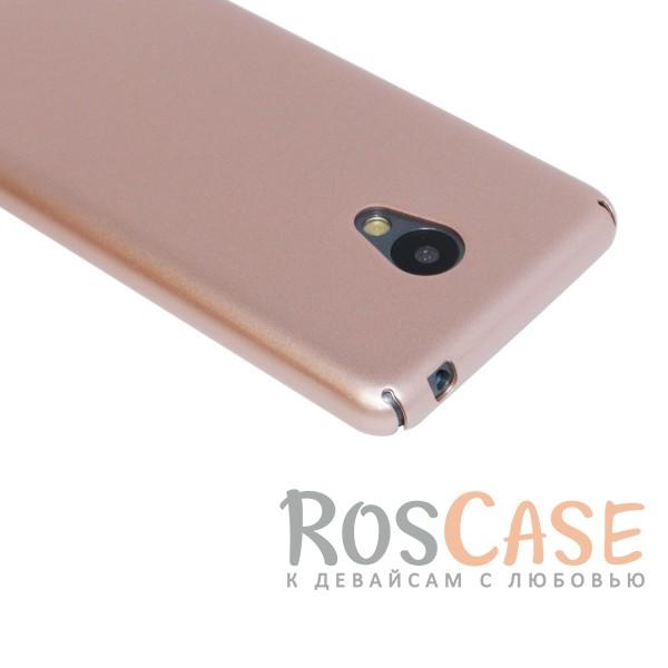 Фото Розовый Joyroom | Матовый soft-touch чехол для Meizu M3 / M3 mini / M3s с защитой торцов