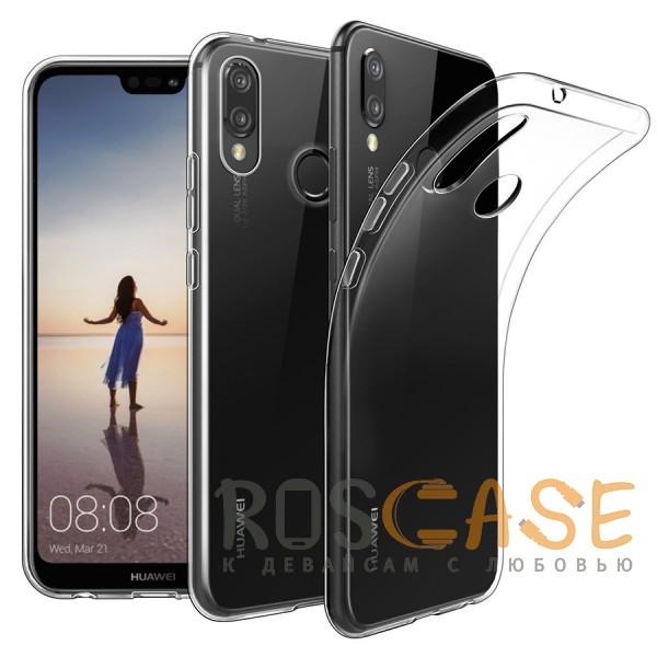 Фото Прозрачный J-Case THIN | Гибкий силиконовый чехол для Huawei P20 Lite