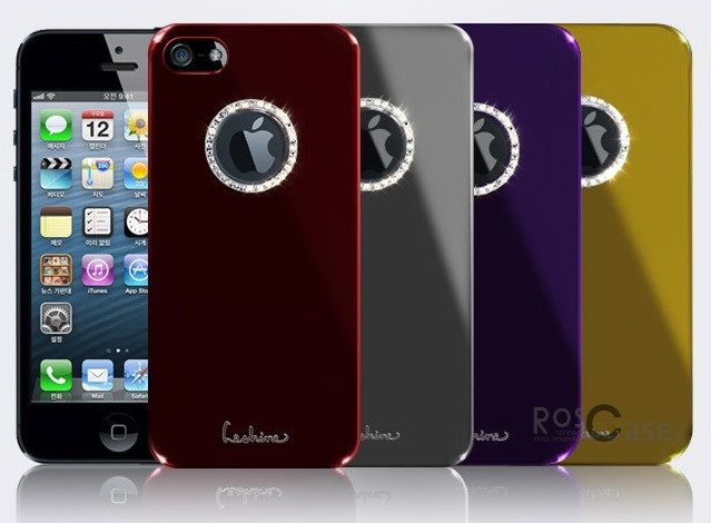 Накладка Dreamplus Eileen Metal Ring Series для Apple iPhone 5