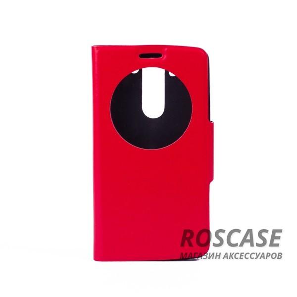 Чехол (книжка) с TPU креплением для LG D724/D722 G3S (Красный)<br><br>Тип: Чехол<br>Бренд: Epik<br>Материал: Искусственная кожа