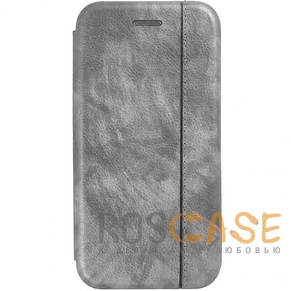 Open Color 2 | Чехол-книжка на магните для Samsung G950 Galaxy S8 с подставкой и внутренним карманом (Серый)