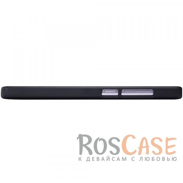 Изображение Черный Nillkin Super Frosted Shield | Матовый чехол для Xiaomi Redmi 4 (+ пленка)