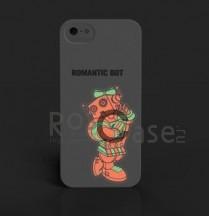 "Фото Светящаяся накладка SleekOn ""Девочка робот""/ Romanticbot_W для Apple iPhone 5/5S/SE"