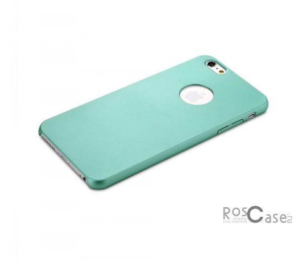 Пластиковая накладка Rock Glory Series для Apple iPhone 6/6s (4.7) (Бирюзовый / Green)Описание:производитель  -  Rock;идеально совместим с Apple iPhone 6/6s (4.7);материал  -  поликарбонат;тип  -  накладка.&amp;nbsp;Особенности:гладкая;имеет все необходимые вырезы;не скользит;на ней не видны отпечатки пальцев;защищает от механических повреждений;легкая установка и удаление.<br><br>Тип: Чехол<br>Бренд: ROCK<br>Материал: Пластик