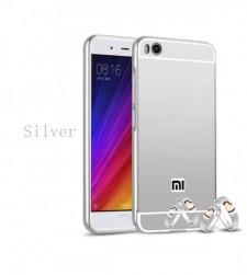 Металлический бампер для Xiaomi Mi 5s с зеркальной вставкой
