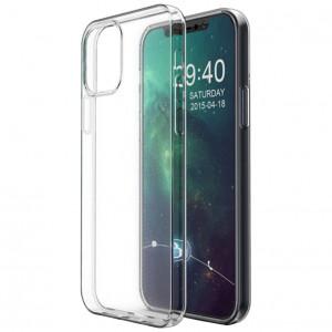 Прозрачный силиконовый чехол для iPhone 12 Pro Max