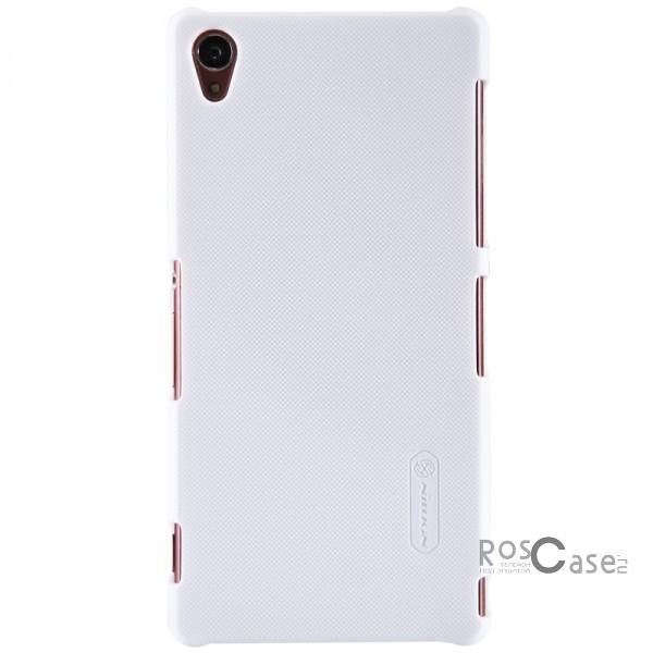 Чехол Nillkin Matte для Sony Xperia Z3/Xperia Z3 Dual (+ пленка) (Белый)Описание:Чехол изготовлен компанией&amp;nbsp;Nillkin;Спроектирован для&amp;nbsp;Sony Xperia Z3/Xperia Z3 Dual;Материал  -  особо прочный пластик;Форма  -  накладка.Особенности:Имеет матовую поверхность;Исключено образование потертостей и возникновение царапин;В комплекте поставляется глянцевая бесцветная пленка;Присутствует антикислотное и UV-напыление;Не маркий;Не деформируется.<br><br>Тип: Чехол<br>Бренд: Nillkin<br>Материал: Поликарбонат