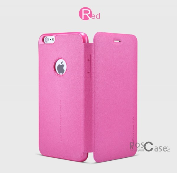 Кожаный чехол (книжка) Nillkin Sparkle Series для Apple iPhone 6 plus (5.5)  / 6s plus (5.5)  (Розовый)Описание:разработчик и производитель&amp;nbsp;Nillkin;изготовлен из синтетической кожи и поликарбоната;фактурная поверхность;тип конструкции: чехол-книжка;совместим с Apple iPhone 6 plus (5.5)  / 6s plus (5.5).&amp;nbsp;Особенности:внутренняя отделка из микрофибры;ультратонкий;не скользит в руках;яркая, насыщенная палитра цветов.<br><br>Тип: Чехол<br>Бренд: Nillkin<br>Материал: Искусственная кожа