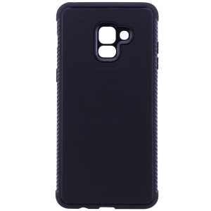 Weave | Гибкий силиконовый чехол для Samsung A730 Galaxy A8+ (2018) с ребристыми гранями