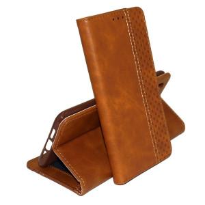 Business Wallet | Кожаный чехол книжка с визитницей для Samsung Galaxy Note 10+