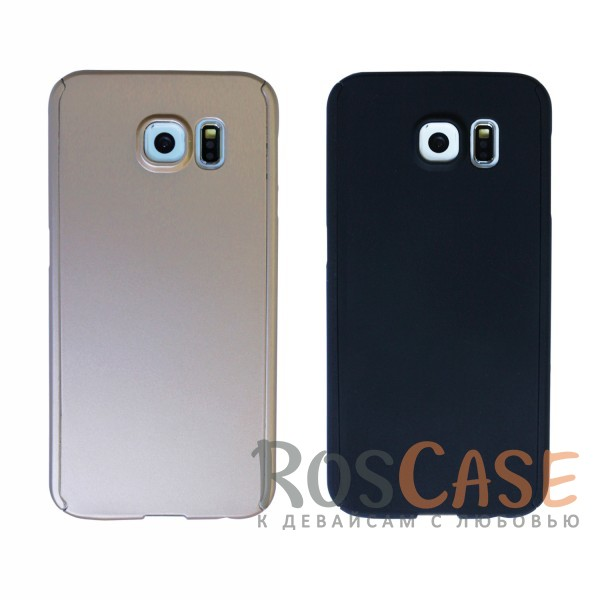 Чехол 360 KMC Colorama для Samsung Galaxy S6 G920F/G920D Duos (+стекло)<br><br>Тип: Чехол<br>Бренд: Epik<br>Материал: Пластик