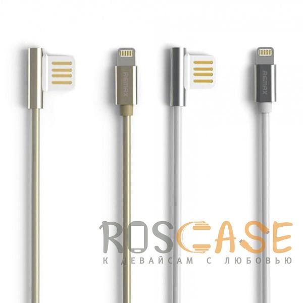 Фото Remax Emperor | Дата кабель USB to Lightning с угловым штекером USB (100 см)