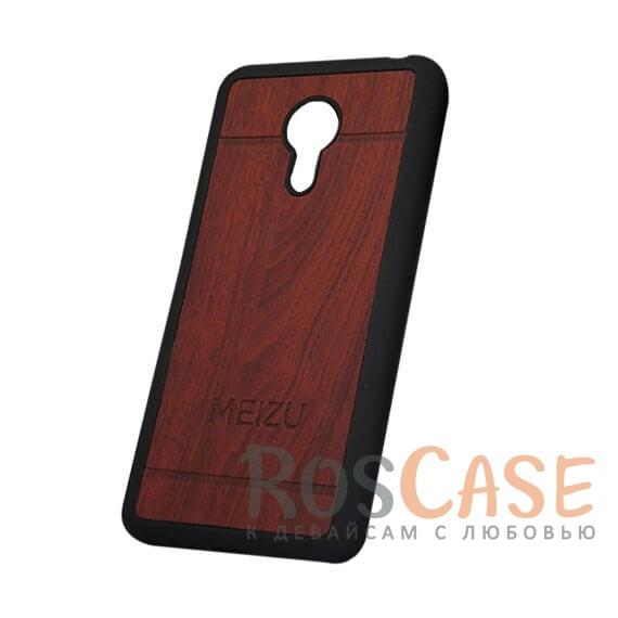 Фото Силиконовый чехол Wood Vintage Style для Meizu Pro 6 Plus