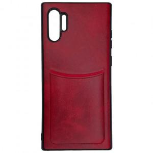 iLevel | Чехол с кожаным покрытием и карманом для Samsung Galaxy Note 10 Plus