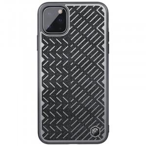 Nillkin Herringbone | Чехол с текстурной тканевой вставкой для iPhone 11 Pro Max