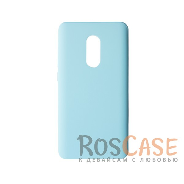 Пластиковая накладка soft-touch с защитой торцов Joyroom для Xiaomi Redmi Note 4 (Мятный)<br><br>Тип: Чехол<br>Бренд: Epik<br>Материал: Пластик