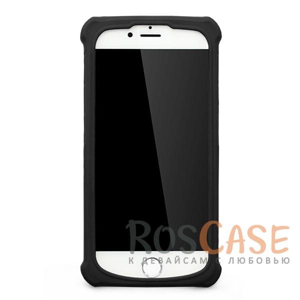 """Универсальный чехол-накладка с противоударным бампером Gresso """"Классик"""" для смартфона 4.7-5.0 дюйма (Черный)"""