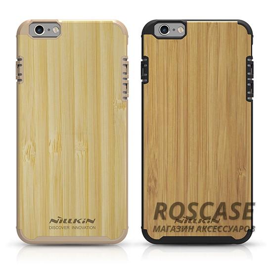 Деревянная накладка Nillkin Knights Series для Apple iPhone 6/6s (4.7)Описание:от бренда&amp;nbsp;Nillkin;разработана для Apple iPhone 6/6s (4.7);материалы  -  поликарбонат, бамбук;формат  -  накладка.&amp;nbsp;Особенности:покрытие из натурального бамбука;защита от механических повреждений;в наличии функциональные вырезы;встроенная металлическая пластина для использования автодержателя;неповторимая фактура дерева (у каждой накладки разная).<br><br>Тип: Чехол<br>Бренд: Nillkin<br>Материал: Поликарбонат