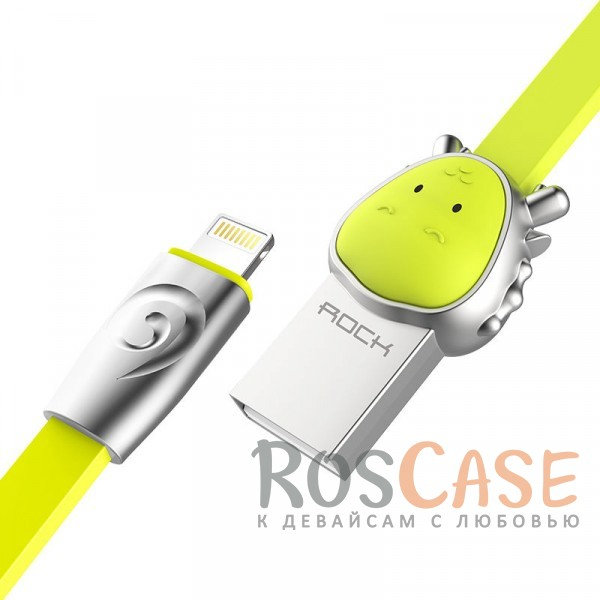 Фото Dragon-Green ROCK Chinese Zodiac | Кабель Lightning для Apple iPhone 5/5s/5c/SE/6/6 Plus/6s/6s Plus /7/7 Plus 1m