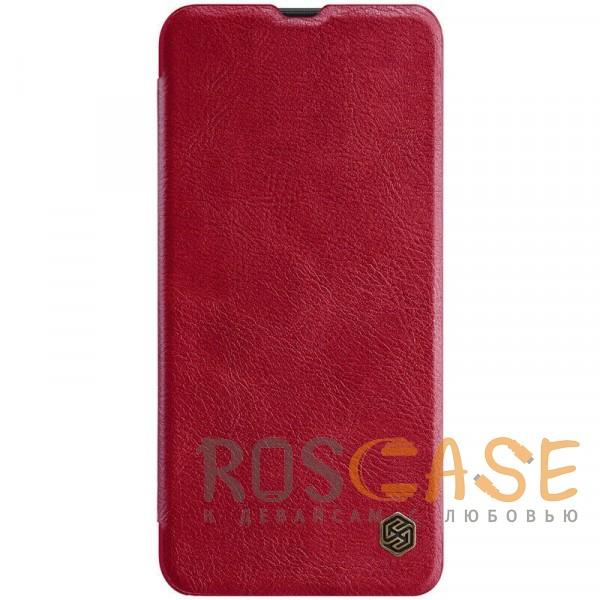 Фото Красный Nillkin Qin натур. кожа   Чехол-книжка для Samsung A505F Galaxy A50