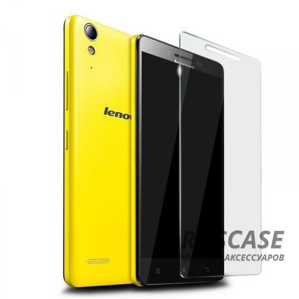 Защитное стекло Ultra Tempered Glass 0.33mm (H+) для Lenovo A7000/K3 Note/K50T (карт. упак)Описание:совместимо с устройством Lenovo A7000/K3 Note/K50T;материал: закаленное стекло;тип: защитное стекло на экран.&amp;nbsp;Особенности:закругленные&amp;nbsp;грани стекла обеспечивают лучшую фиксацию на экране;стекло очень тонкое - 0,33 мм;отзыв сенсорных кнопок сохраняется;стекло не искажает картинку, так как абсолютно прозрачное;выдерживает удары и защищает от царапин;размеры и вырезы стекла соответствуют особенностям дисплея.<br><br>Тип: Защитное стекло<br>Бренд: Epik