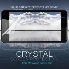 Nillkin Crystal | Прозрачная защитная пленка для Microsoft Lumia 650