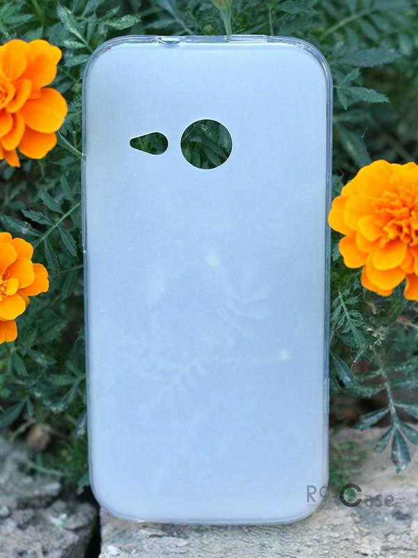 TPU чехол Epik для HTC One mini 2 (Бесцветный (Soft-touch))Описание:разработчик и производитель Epik;изготовлен из термополиуретана;фактура гладкая;тип конструкции: накладка;совместим с HTC One mini 2.&amp;nbsp;Особенности:широкая палитра цветов;эксклюзивный дизайн;прочный и износостойкий;ультратонкий;надежная фиксация;легкая очистка.&amp;nbsp;<br><br>Тип: Чехол<br>Бренд: Epik<br>Материал: TPU