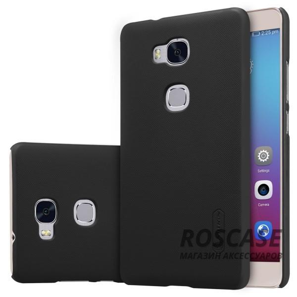 Матовый чехол Nillkin Super Frosted Shield для Huawei Honor 5X / GR5 (+ пленка) (Черный)Описание:производитель - компания&amp;nbsp;Nillkin;материал - поликарбонат;совместим с Huawei Honor X5 / GR5;тип - накладка.&amp;nbsp;Особенности:матовый;прочный;тонкий дизайн;не скользит в руках;не выцветает;пленка в комплекте.<br><br>Тип: Чехол<br>Бренд: Nillkin<br>Материал: Пластик