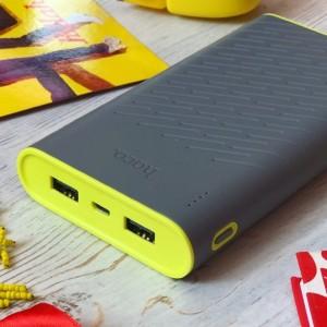 Hoco B31A | Портативное зарядное устройство Power Bank c двумя выходами USB (30000 mAh