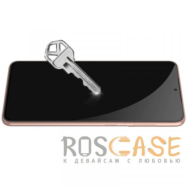Фотография Черное Nillkin CP+ PRO   Закаленное защитное стекло для Samsung Galaxy S21