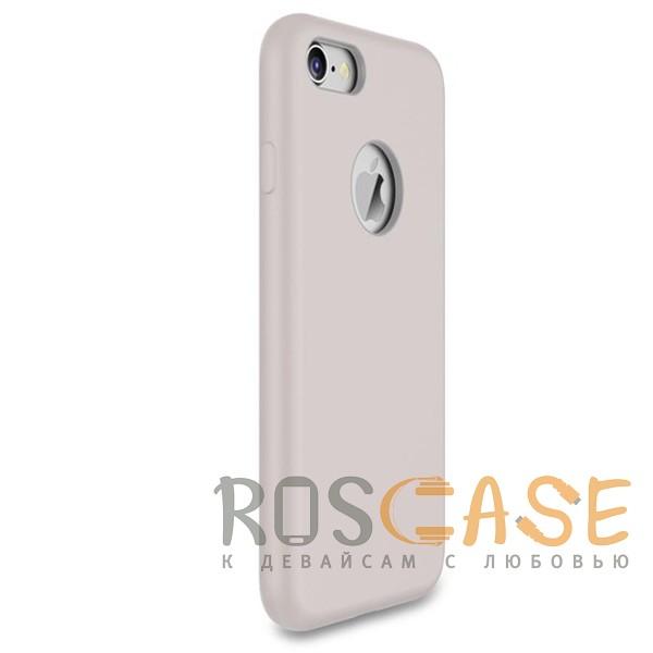 """Фотография Сиреневый / Light purple Rock Silicon   Ультратонкий чехол для Apple iPhone 7 / 8 (4.7"""") из силикона"""