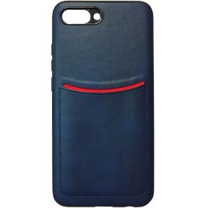 ILEVEL | Чехол с кожаным покрытием и с карманом-визитницей для Huawei Honor 10