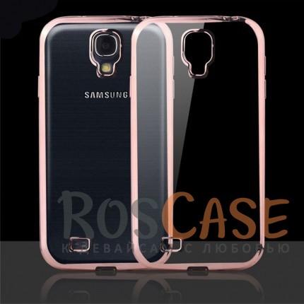 Прозрачный силиконовый чехол для Samsung i9500 Galaxy S4 с глянцевой окантовкой (Розовый)Описание:совместим с Samsung i9500 Galaxy S4;материал - термополиуретан;тип - накладка.<br><br>Тип: Чехол<br>Бренд: Epik<br>Материал: TPU