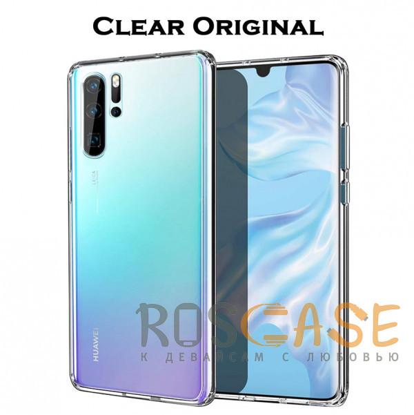 Фотография Clear Case | Прозрачный TPU чехол 2мм для Huawei P30