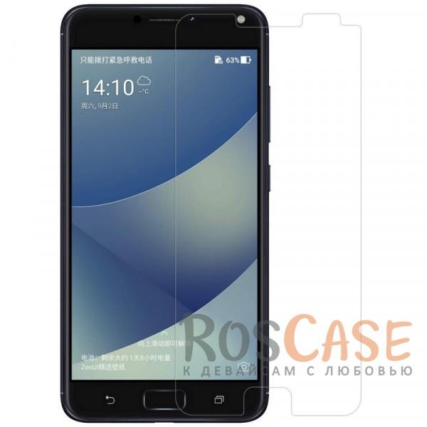 Антибликовое защитное стекло с олеофобным покрытием анти-отпечатки для Asus Zenfone 4 Max (ZC554KL)Описание:бренд&amp;nbsp;Nillkin;совместимо с Asus Zenfone 4 Max (ZC554KL);материал: закаленное стекло;прочное;ультратонкое - 0,33 мм;защищает от царапин и ударов;разработано с учетом особенностей экрана гаджета;размеры стекла -&amp;nbsp;146*67 мм.<br><br>Тип: Защитное стекло<br>Бренд: Nillkin