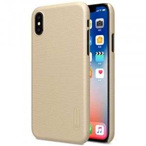 "Nillkin Super Frosted Shield | Матовый чехол для Apple iPhone X (5.8"") (+ пленка)"