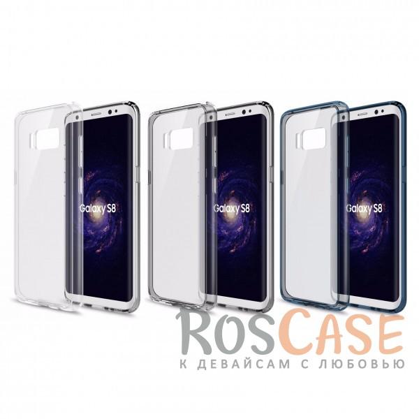 Ультратонкий пластиковый чехол-накладка с дополнительной защитой углов и кнопок для Samsung G950 Galaxy S8Описание:производитель - Rock;материалы - поликарбонат, термополиуретан;разработан специально для&amp;nbsp;Samsung G950 Galaxy S8;прозрачная накладка;легкий дизайн;защитный бортик вокруг камеры;защита задней панели и боковых граней.<br><br>Тип: Чехол<br>Бренд: ROCK<br>Материал: Поликарбонат